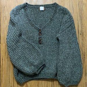 Pol V-Neck Knitted Sweater